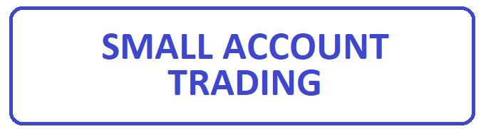 Trading a small forex account